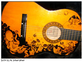 guitar by venonded