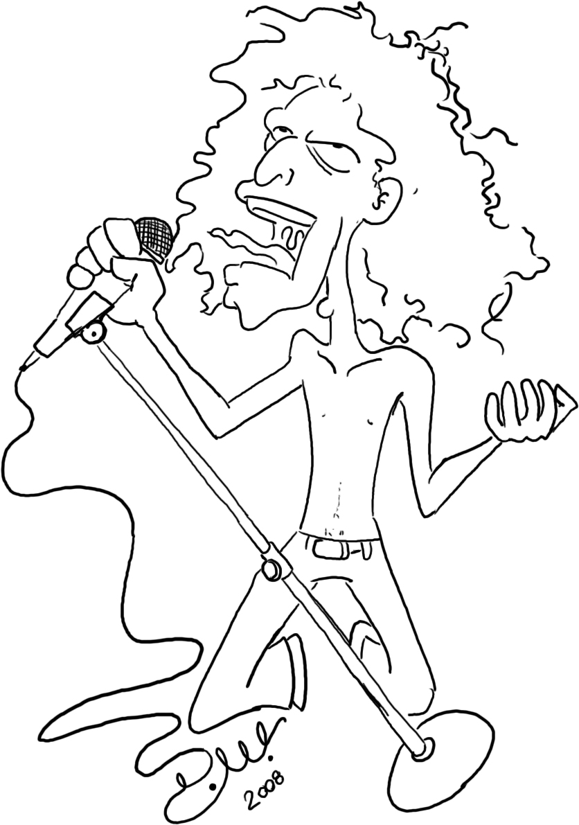 Mick Jagger by venonded