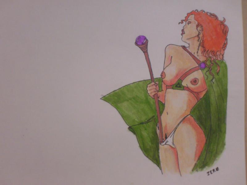 sorcerer by venonded