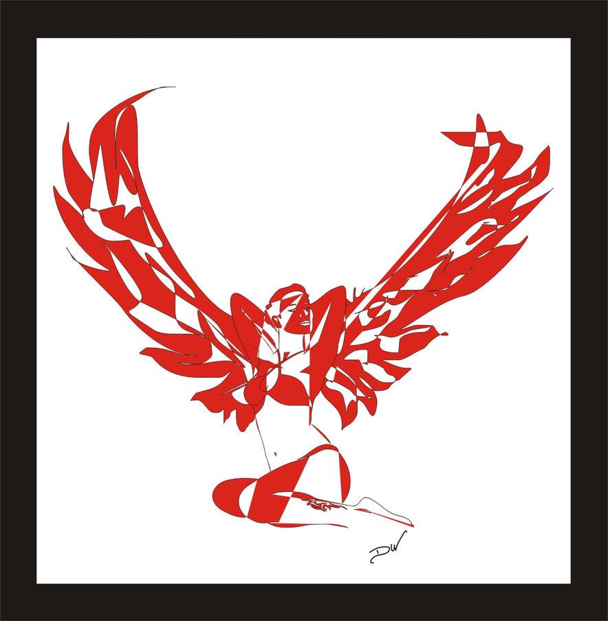 angel-minn-vetor by venonded