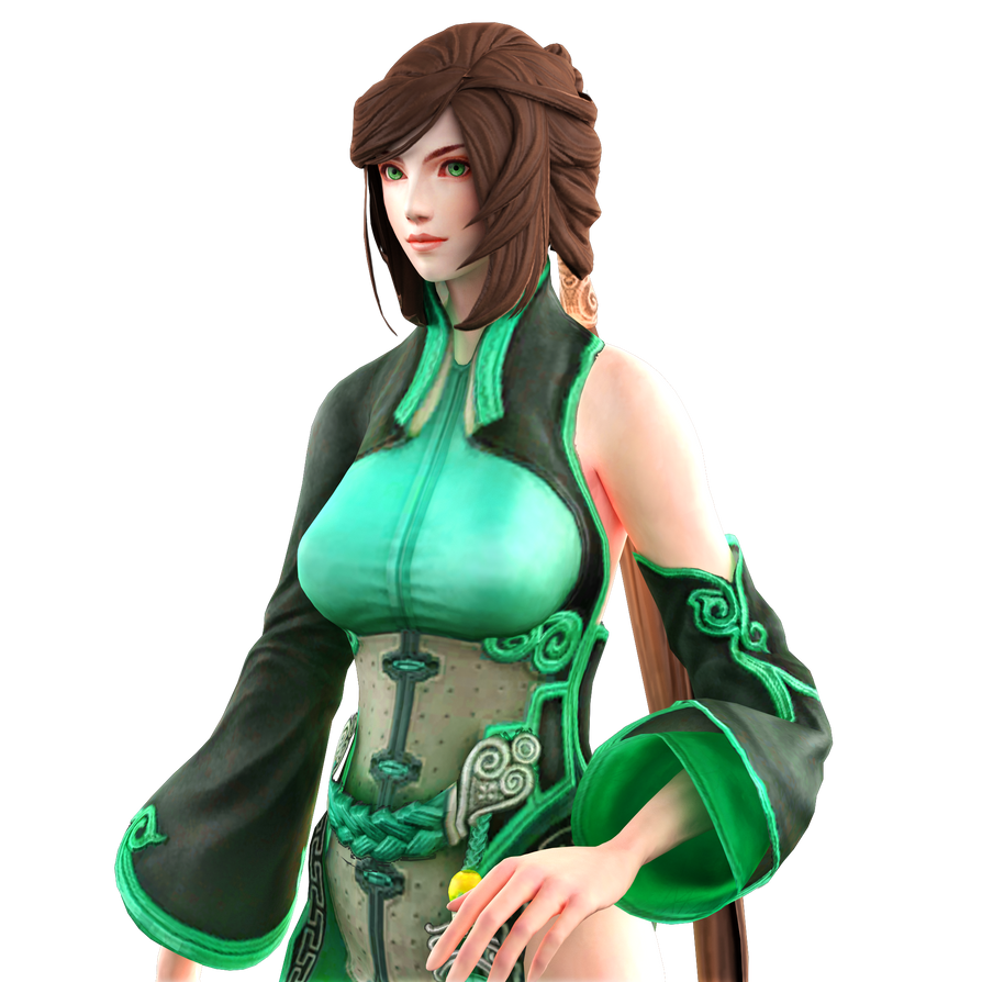 Musou Characters - Xiao Mei close up render by RyanReos