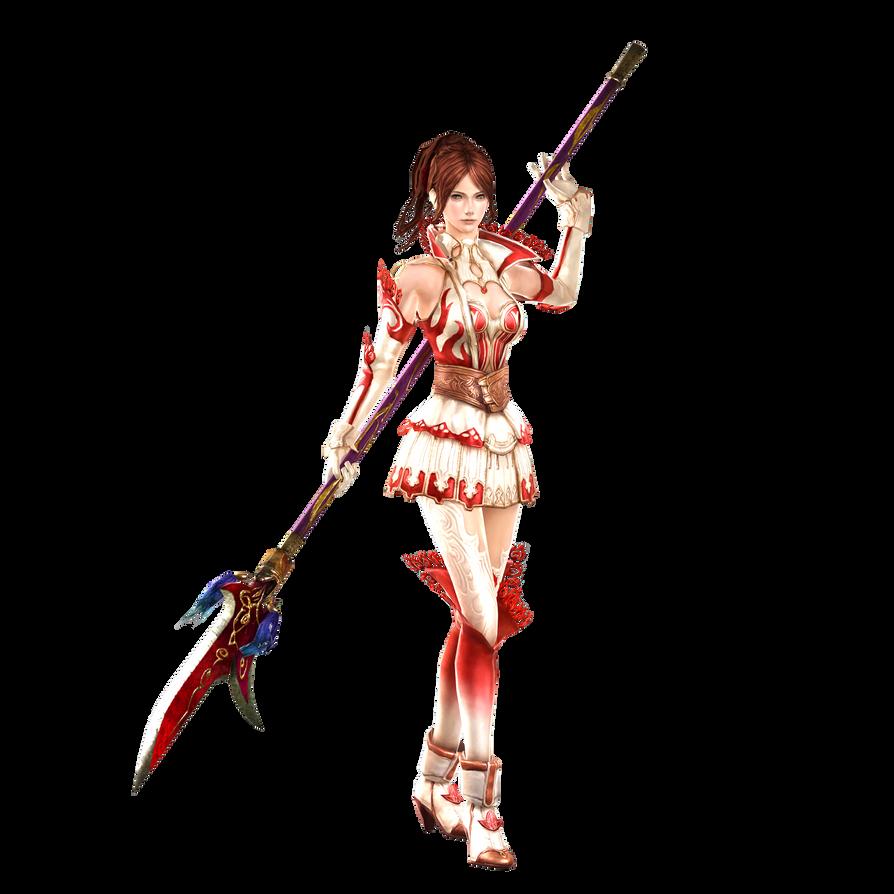 Granado Espada - Female Fighter - Flame of Rages by RyanReos