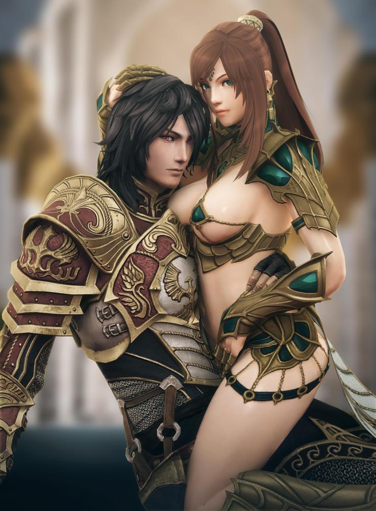 Zhao Huo and Xiao Mei. by RyanReos