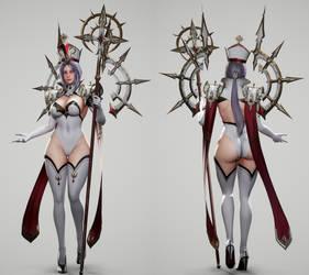 High Priestess Full Render