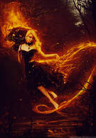 Flame Girl by zacky7avenged