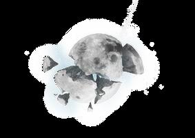 Broken Moon Stock by zacky7avenged