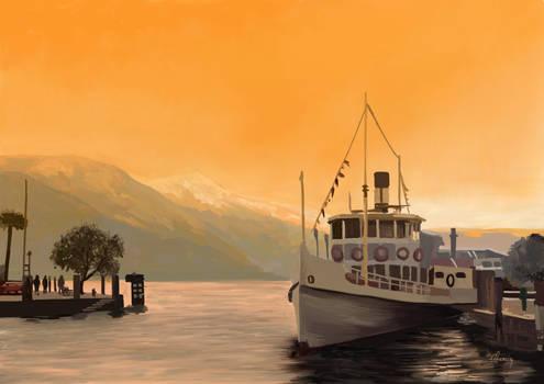 Lake Garda Paint