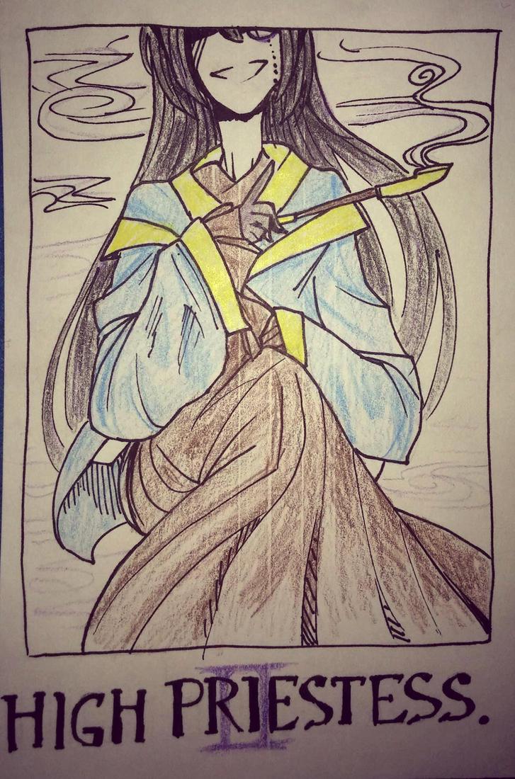 High Priestess - Ma by UglyTree