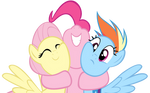 Pinkie Dash Shy Hug
