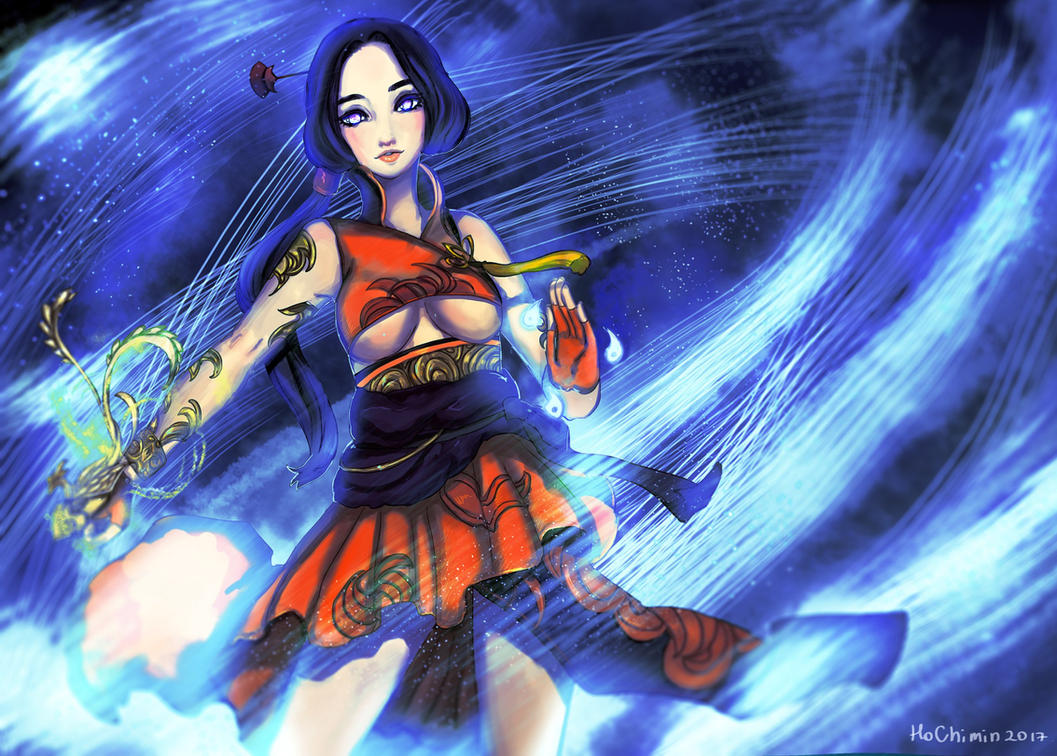 Soul Fighter Blade and soul by SelinTayler