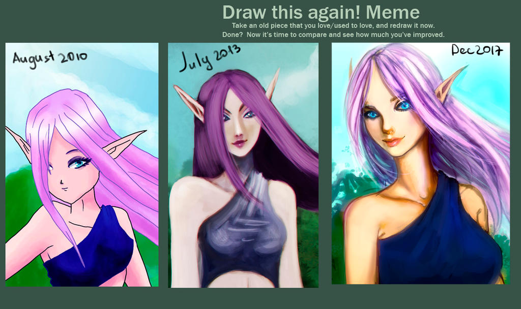 Draw tis again and again by SelinTayler