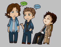 Team Free Will by Supernatural-Fox