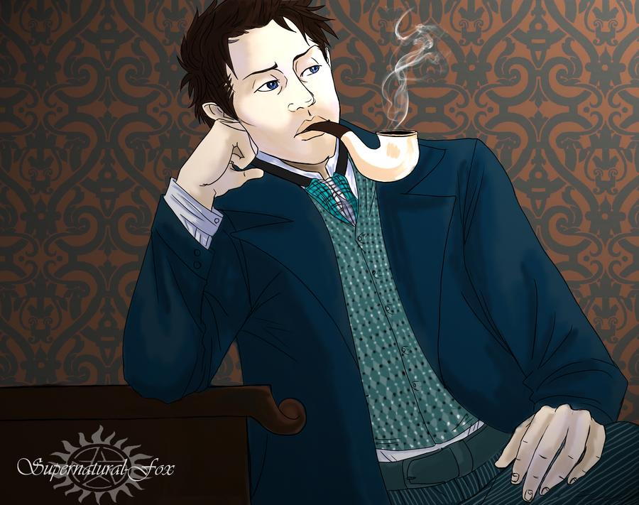 Sherlock Castiel by Supernatural-Fox