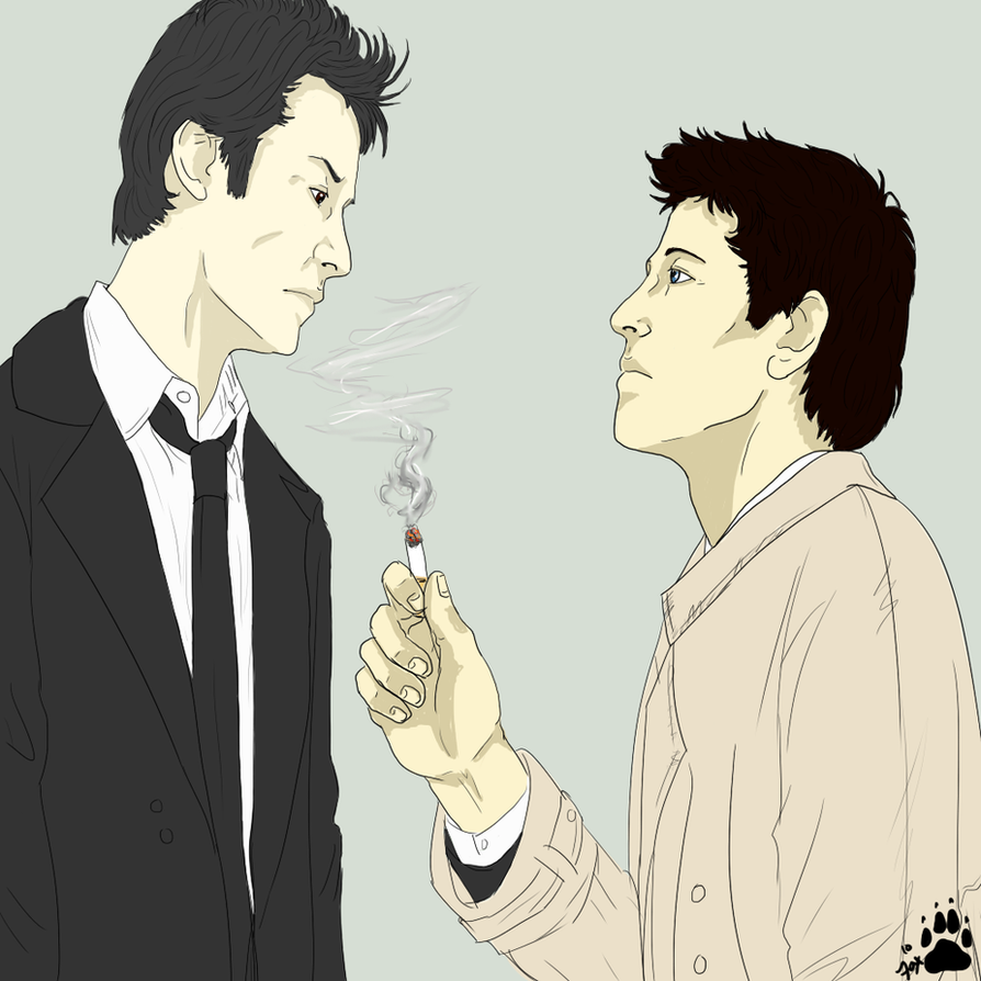 Smokings Bad For You by Supernatural-Fox