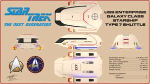 TNG Type 7 Shuttle Orthos