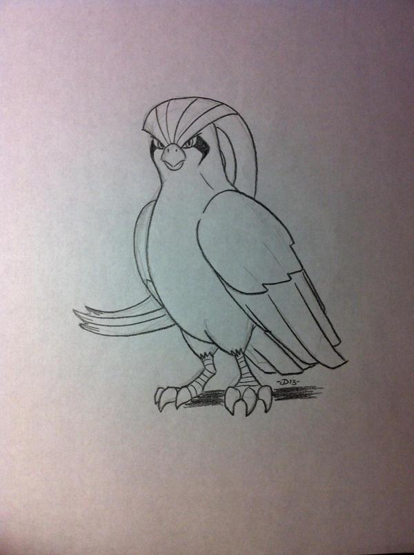 Favorite Flying-Type - Pidgeot by Jaebird88