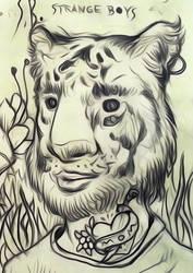 tigerB by Kazze