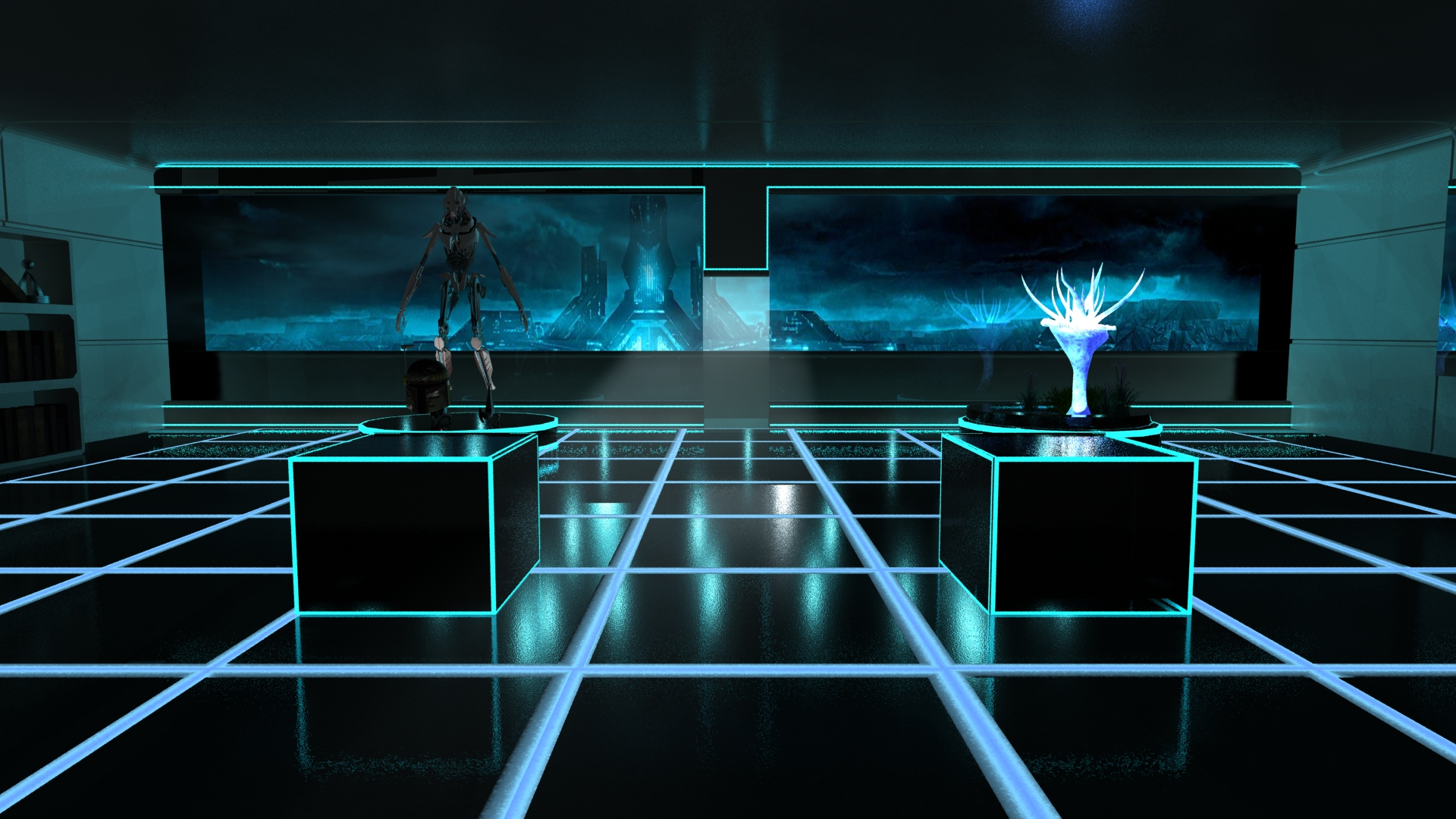 ... Tron Museum by Mymph-of-Angels  sc 1 st  DeviantArt & Tron Museum by Mymph-of-Angels on DeviantArt