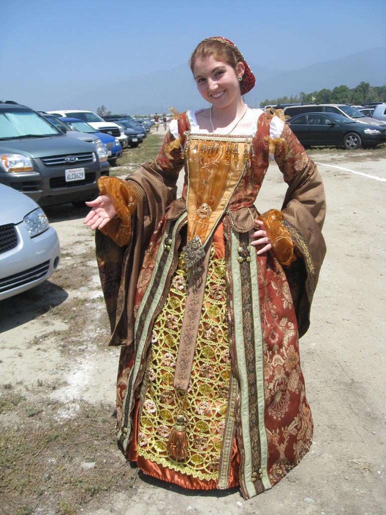 Elizabethan Upperclass Merchant's Dress (Stage 1) by ...