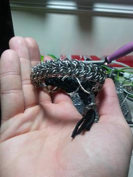 Cobra cinch bracelet