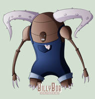 Pokepeople - Pinsir by DrCrafty
