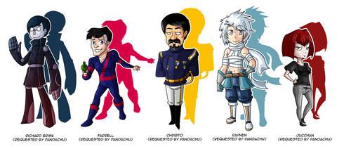 Commission: Pandachu 4 by DrCrafty