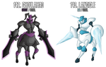 fakemon: 142 - 143 - Legendary Knights duo