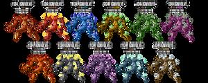 Fakemon: 134 by DrCrafty