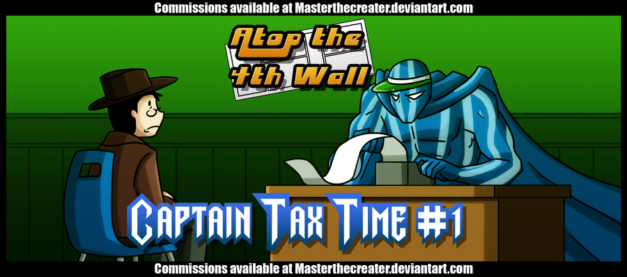 AT4W: Captain Tax Time by MTC-Studio