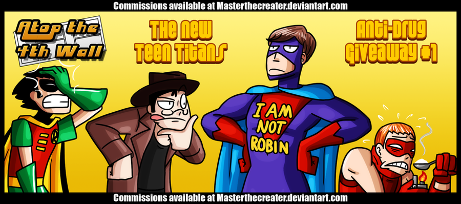 AT4W: New Teen Titans by MTC-Studio
