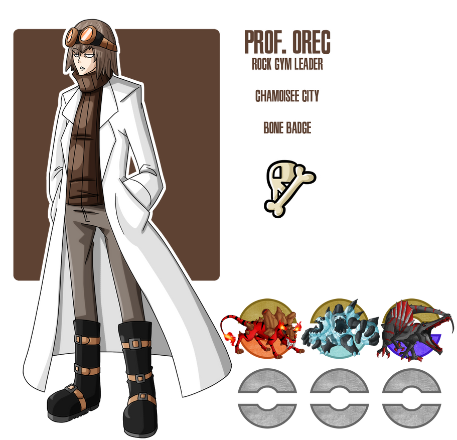Fakemon: Rock Gym Leader by MTC-Studios