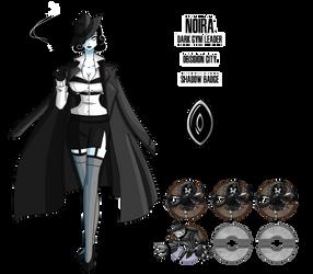 Fakemon: Dark Gym Leader by DrCrafty