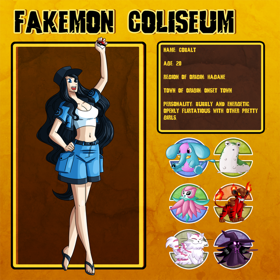 Fakemon Coliseum: Cobalt by MTC-Studio