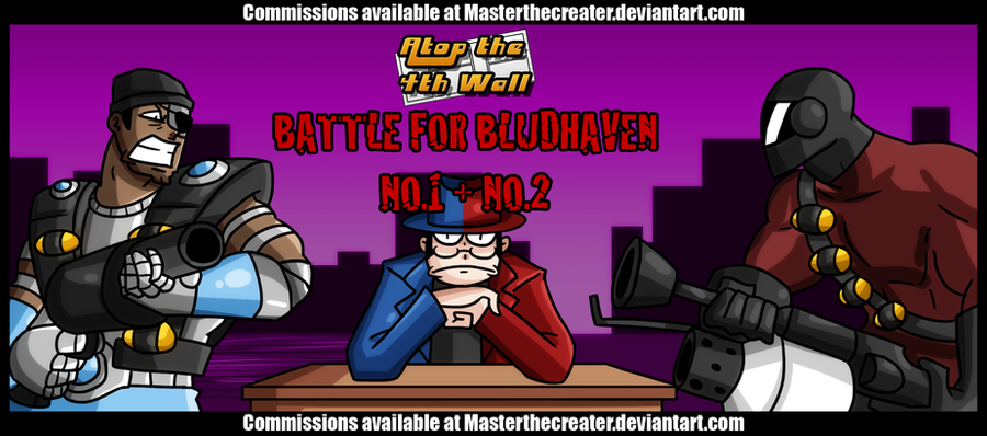 AT4W: Battle for Bludhaven 1 + 2 by MTC-Studio