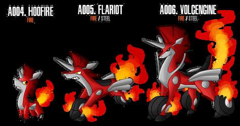 Fakemon: A004 - A006 - Alternate Fire Starter