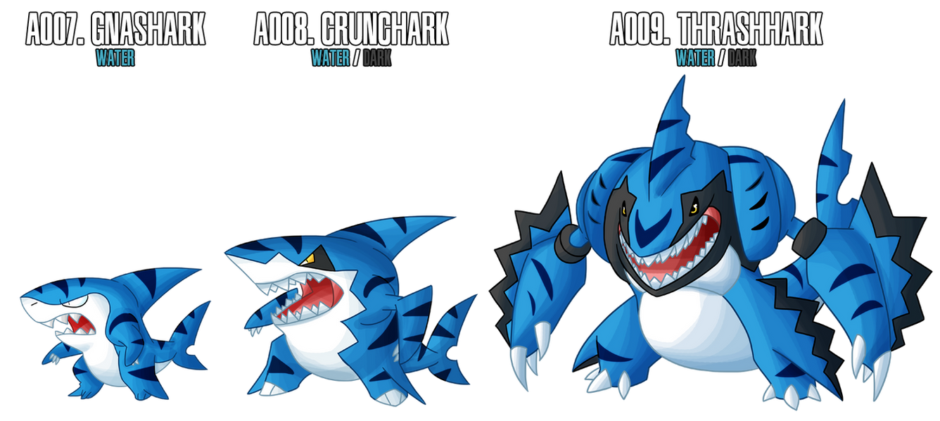 Fakemon: A007 - A009 - Alternate Water Starter by MTC-Studio