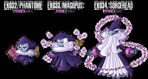 Fakemon: EX32 - EX34