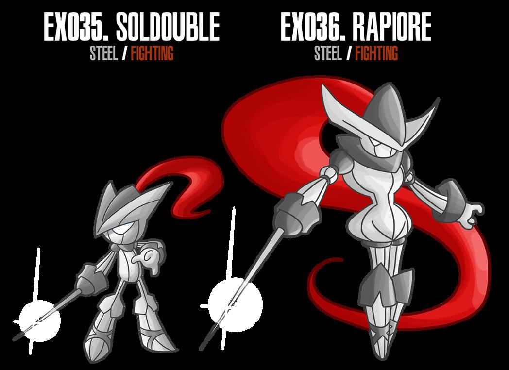 Fakemon: EX35 - EX36 by MTC-Studios