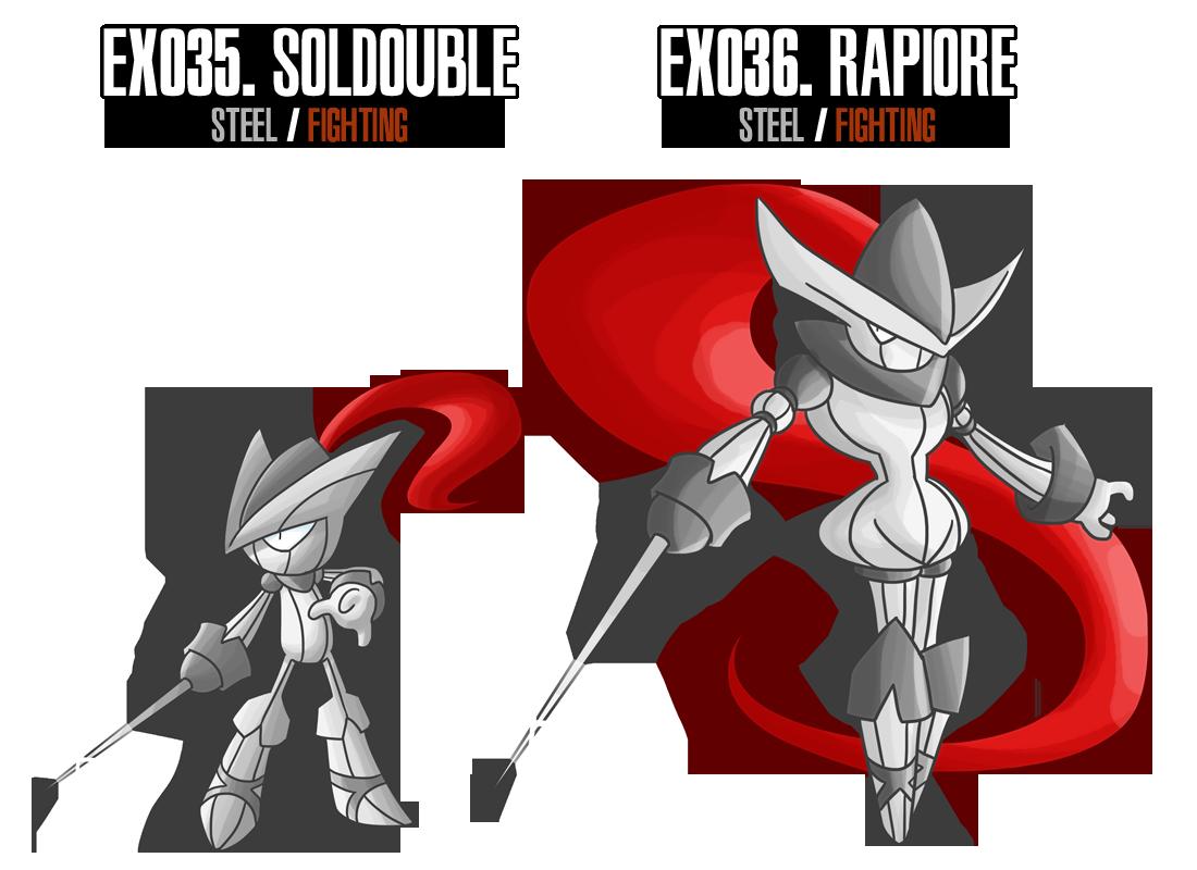 Fakemon: EX35 - EX36 by MTC-Studio