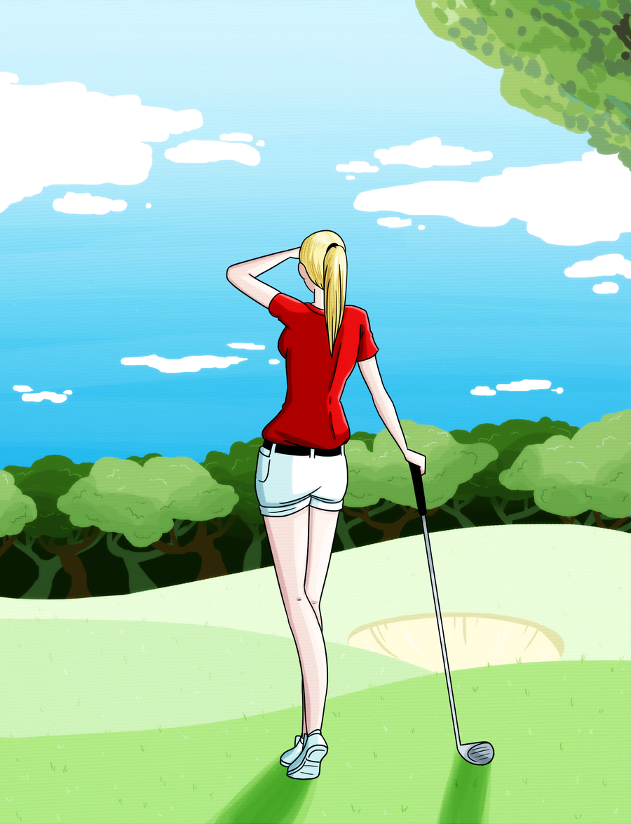 Commission: Golf Print 2 by MTC-Studio