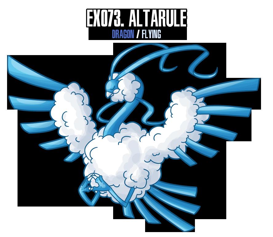 Fakemon: EX073 by MTC-Studio