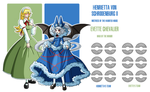 Fakemon: Haunted House Mistresses by DrCrafty