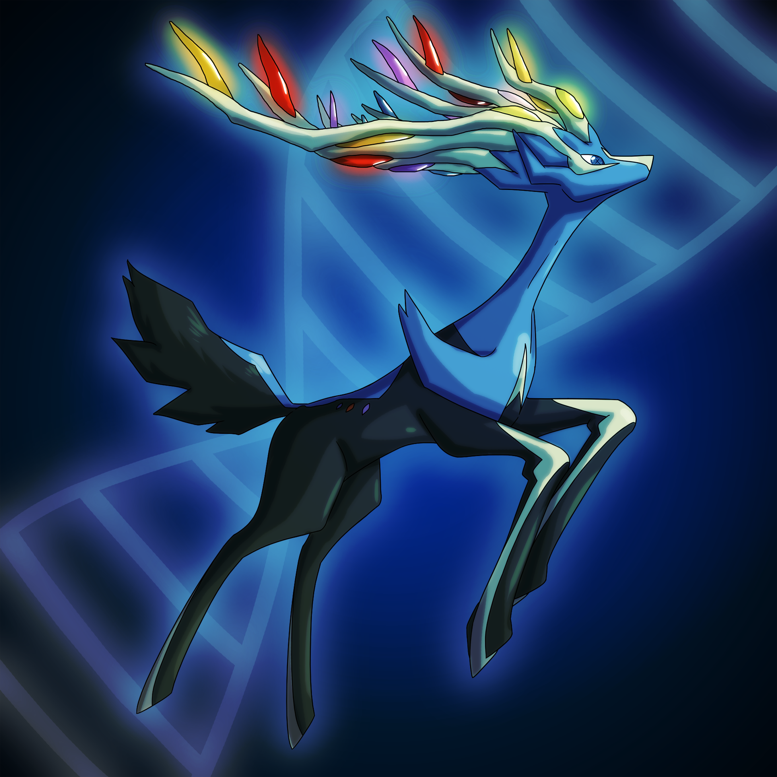 Pokemon X: Xerneas by DrCrafty on DeviantArt