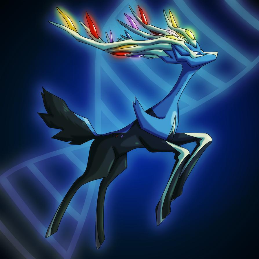 Pokemon X  Xerneas by MTC-StudioXerneas