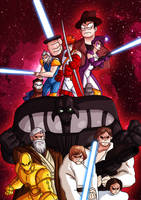AT4W: Youngblood 5 + Star Wars 3D by DrCrafty
