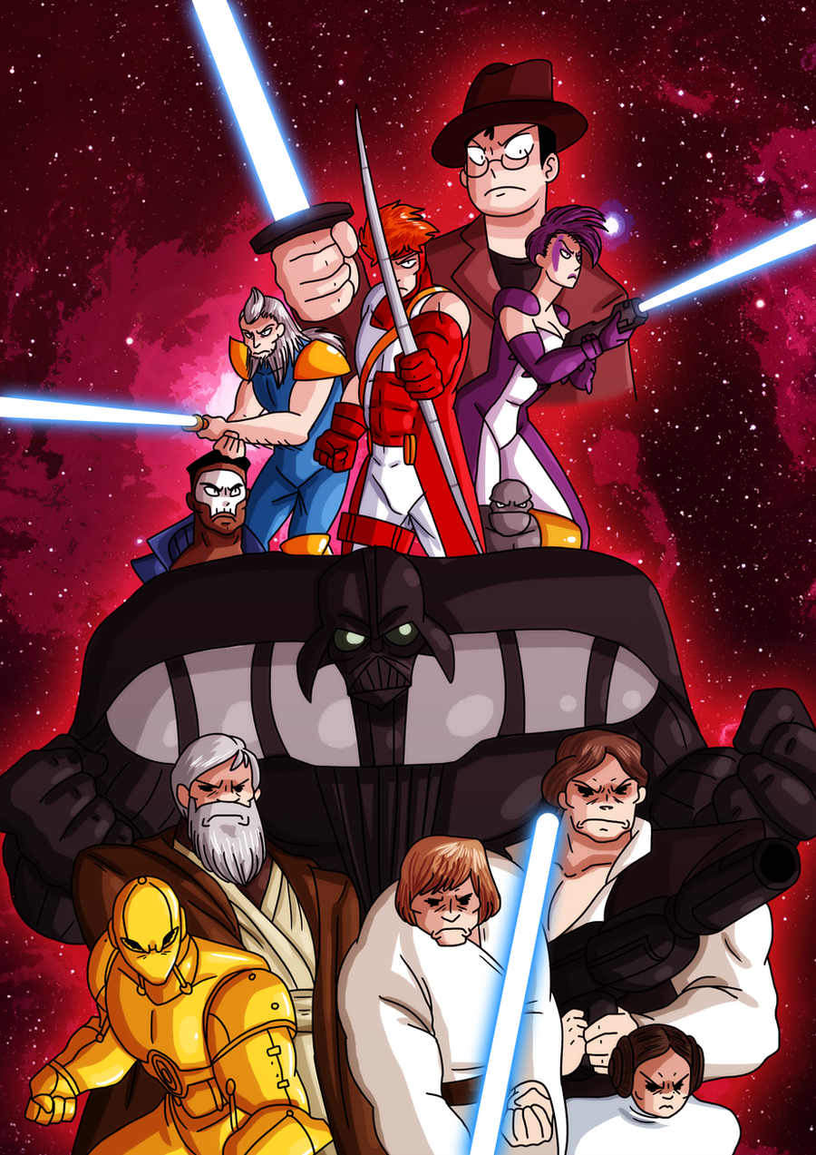 AT4W: Youngblood 5 + Star Wars 3D by MTC-Studios