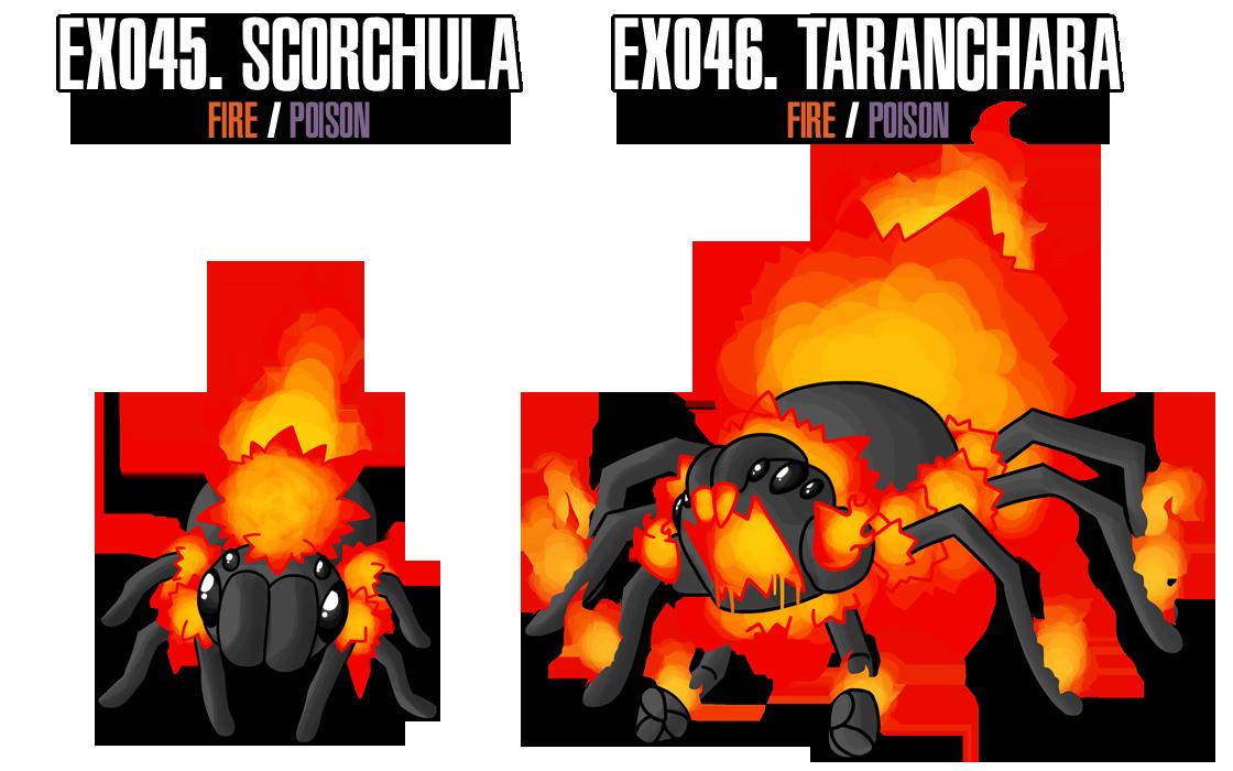 Fakemon: EX045 - EX046 by MTC-Studio