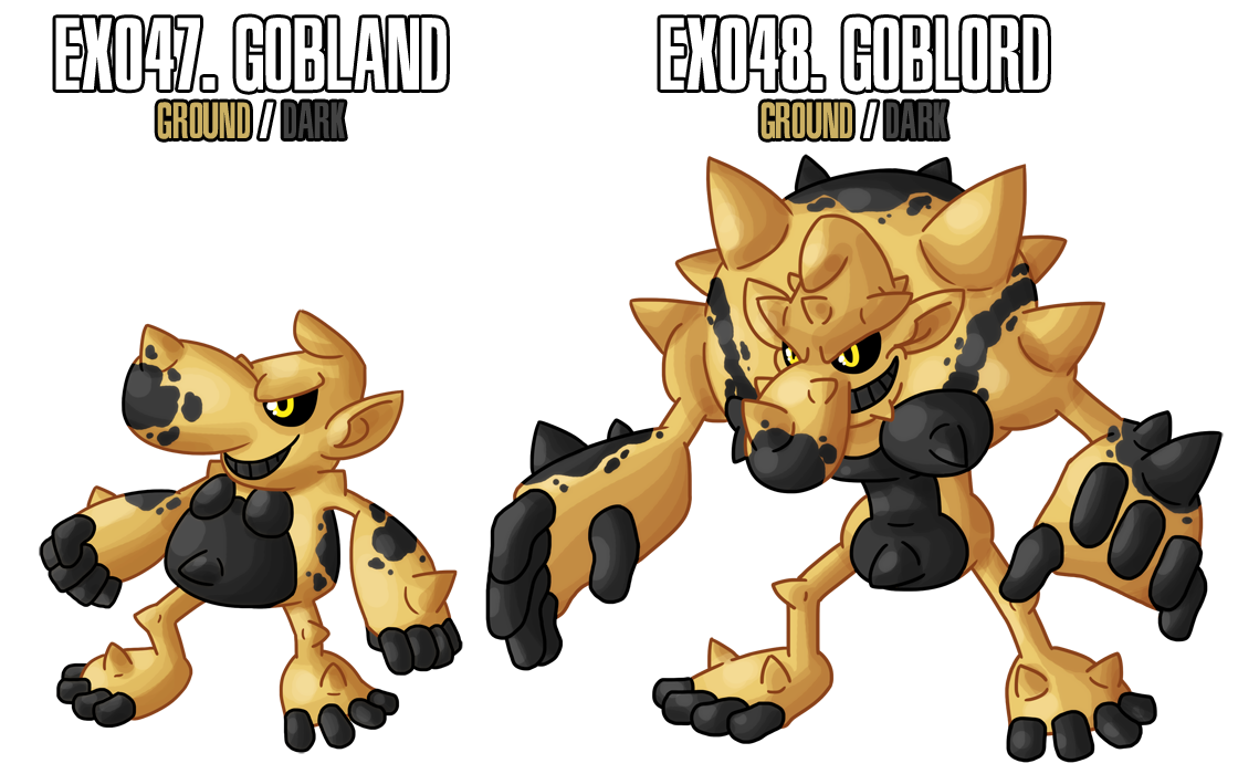 Fakemon: EX047 - EX048 by MTC-Studio