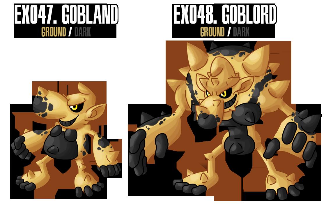 Fakemon: EX047 - EX048 by MTC-Studios