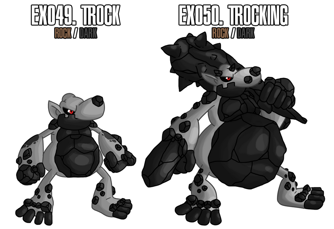 Fakemon: EX049 - EX050 by MTC-Studio